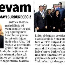 07.04.2019-Alba ile Devam(Hürriyet Ege)