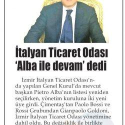 08.04.2019-İtalyan Ticaret Odası Alba İle Devam Dedi(Yenigün)