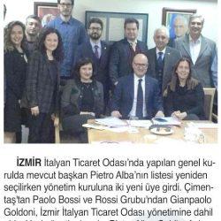 08.04.2019-İtalyan Ticaret Odası Alba İle Devam Edecek(İzmir Dokuz Eylül Gazetesi)
