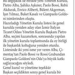 08.04.2019-İzmir İtalyan Ticaret Odası Alba İle Devam Dedi(Aliağa Ekspres Gazetesi)