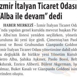 08.04.2019-İzmir İtalyan Ticaret Odası Alba İle Devam Dedi(Ticaret Gazetesi)