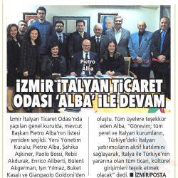 08.04.2019-İzmir İtalyan Ticaret Odası Alba İle Devam(Posta İzmir)