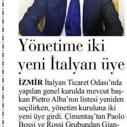 08.04.2019-Yönetime İki Yeni İtalyan Üye(İlk Ses)