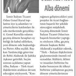 11.02.2017-İzmir İtalyan Ticaret Odası'nda PIETRO ALBA Dönemi(Yeni Bakış)
