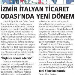 11.02.2017-İzmir İtalyan Ticaret Odası'nda Yeni Dönem(Yenigün İzmir)