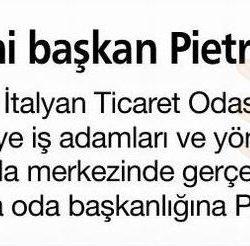 12.02.2017-Yeni Başkan PIETRO ALBA(Habertürk Egeli)