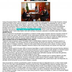 16.02.2017-Denizli'de Hedef Pazar İtalya(Denizli Gazetesi)