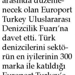 23.03.2017-Alba'dan Denizcilere Fuar Daveti(Aliağa Ekspres Gazetesi)