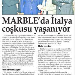 24.03.2017-Marble'da İtalya Coşkusu Yaşanıyor(Yenigün-İzmir)