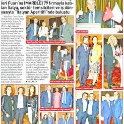27.03.2017-İtalyan Aperitifinde Buluştular(Yenigün-İzmir)