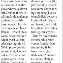 27.07.2019-Türk İş Dünyasına İtalya Çağrısı (Aliağa Ekspres Gazetesi)