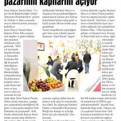 25.12.2018-İzmir İtalyan Ticaret Odası İtalya Pazarının Kapılarını Açıyor(Aliağa Ekspres Gazetesi)